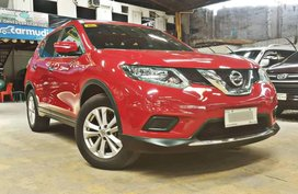 Red 2015 Nissan X-Trail Automatic Gasoline for sale in Quezon City