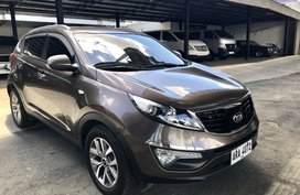 Brown 2014 Kia Sportage Automatic Diesel for sale