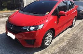 Selling Honda Jazz 2016 Automatic Gasoline in Baras