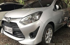 Selling Silver Toyota Wigo 2019 Manual Gasoline in Quezon City