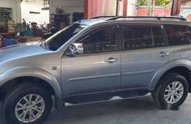 Selling Grey Mitsubishi Montero Sport 2014 in Las Piñas