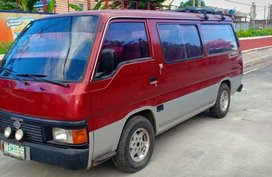 Sell 2nd Hand 1992 Nissan Urvan Manual Diesel at 130000 km in Quezon City