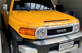Selling 2nd Hand Toyota Fj Cruiser 2015 in Pasig