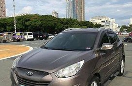 Selling Brown Hyundai Tucson 2011 Automatic Gasoline at 83000 km in Quezon City