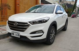 Sell White 2016 Hyundai Tucson at 28000 km in Quezon City