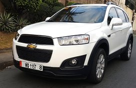 Sell White 2016 Chevrolet Captiva at 28000 km in Quezon City