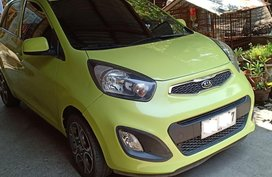 Yellow 2014 Kia Picanto Hatchback for sale in Calumpit