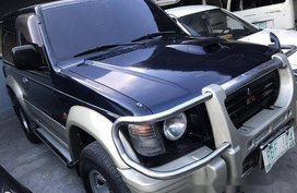 Selling Blue Mitsubishi Pajero 2004 Automatic Diesel in Quezon City