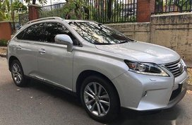 Silver Lexus Rx 350 2012 Automatic Gasoline for sale