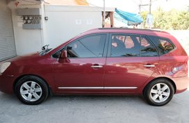 Red Kia Carens for sale in Mandaue