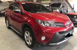 2nd Hand Toyota Rav4 2014 Automatic Gasoline for sale in Mandaue