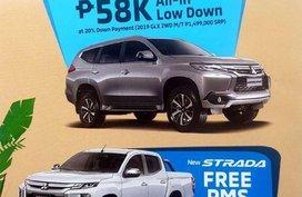 Selling Mitsubishi Montero Sport 2019 Manual Gasoline in Pasig