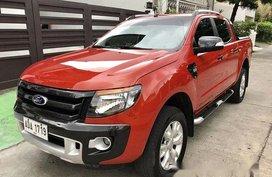 Sell Orange 2015 Ford Ranger at 24993 km