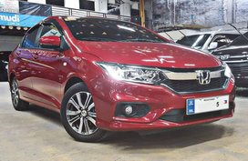 Red 2018 Honda City Sedan at 10000 km for sale in Quezon City