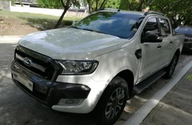 White 2016 Ford Ranger Automatic Diesel for sale in Metro Manila