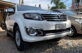 White 2015 Toyota Fortuner for sale in Isabela