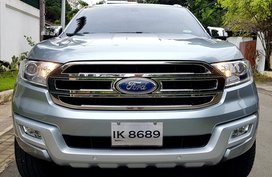 2nd Hand 2016 Ford Everest Automatic Diesel for sale in Quezon City