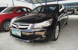 Black Honda Accord 2010 for sale in Makati
