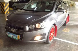 2nd Hand Chevrolet Sonic 2013 Manual Gasoline for sale in Rodriguez