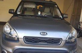 Grey Kia Soul 2014 Automatic for sale