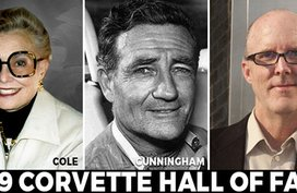 Corvette Hall of Fame Inductees 2019