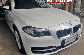 2nd Hand Bmw 520D 2015 for sale in Quezon City