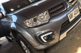 Sell 2nd Hand 2015 Mitsubishi Montero sport at 55000 km in Quezon City