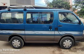 Blue 1996 Toyota Hiace Manual Diesel for sale