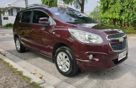 Red Chevrolet Spin 2015 LTZ Automatic Casa Maintained for sale in Las Pinas