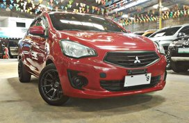 Red 2015 Mitsubishi Mirage G4 Sedan for sale in Quezon City