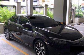 2nd Hand Honda Civic 2016 for sale in Quezon City