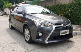 2nd Hand Toyota Yaris 2015 for sale in Quezon City
