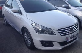 Selling White Suzuki Ciaz 2018 at 8857 km in Parañaque