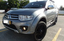 Sell Grey 2015 Mitsubishi Montero Sport in Quezon City