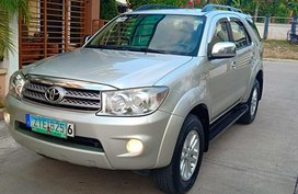 Selling Used Toyota Fortuner 2010 in Cebu City