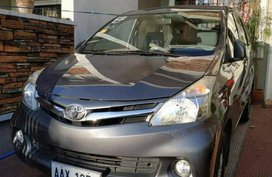 Sell Gray 2014 Toyota Avanza in Parañaque