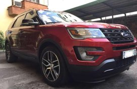 Selling 2nd Hand Ford Explorer 2017 at 9800 Km in Mandaluyong