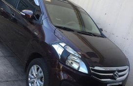 2nd Hand Suzuki Ertiga 2017 Manual Gasoline for sale in Makati