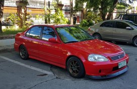 2nd Hand Honda Civic 1999 Manual Gasoline for sale in Baguio
