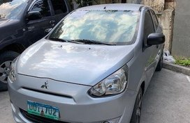 2nd Hand Mitsubishi Mirage 2012 Manual Gasoline for sale in Mandaue
