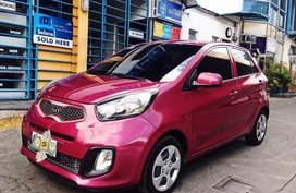 Sell 2nd Hand 2016 Kia Picanto Manual Gasoline at 37000 km in Cebu City