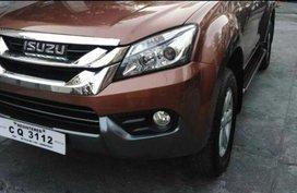 Isuzu Mu-X 2016 Manual Diesel for sale in Lipa