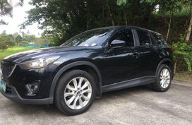 Selling Mazda Cx-5 2013 at 70000 km in Quezon City