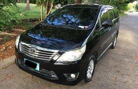 Sell Black 2013 Toyota Innova Automatic Diesel in Metro Manila