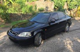 Selling Black Honda Civic 1997 at 111000 km in Laguna