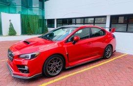 Red Subaru Wrx Sti 2015 Manual Gasoline for sale in Quezon City
