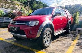Selling Mitsubishi Strada 2013 Manual Diesel in Baguio