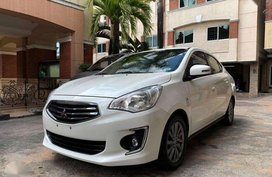 Sell White 2016 Mitsubishi Mirage G4 Automatic Gasoline at 25000 km in Quezon City