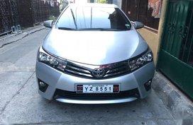 Toyota Corolla altis 2016 Manual Gasoline for sale in Cagayan De Oro