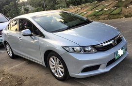 Sell 2012 Honda Civic Automatic Gasoline at 66000 km in Pasig